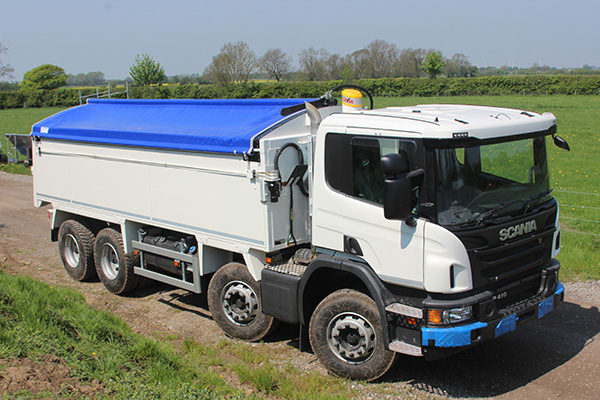 Truck with Sheeting